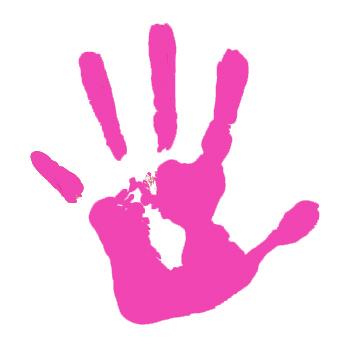 Handprint clipart muddy. Hand print clip art