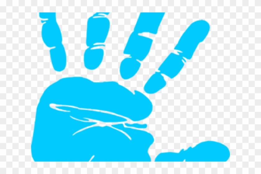 Handprint clipart newborn baby. Purple hand print png