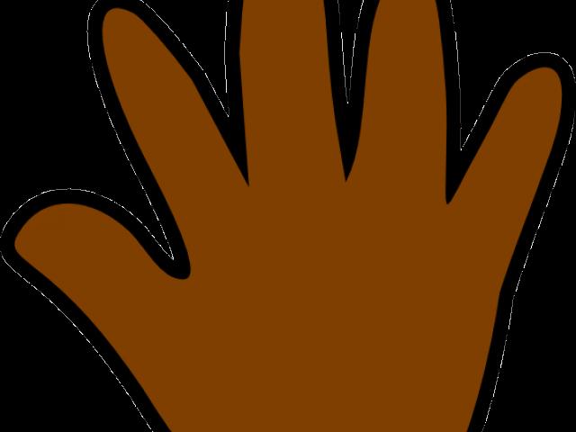 Cliparts x carwad net. Handprint clipart orange
