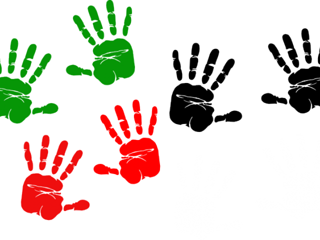 Printable free on dumielauxepices. Handprint clipart orange
