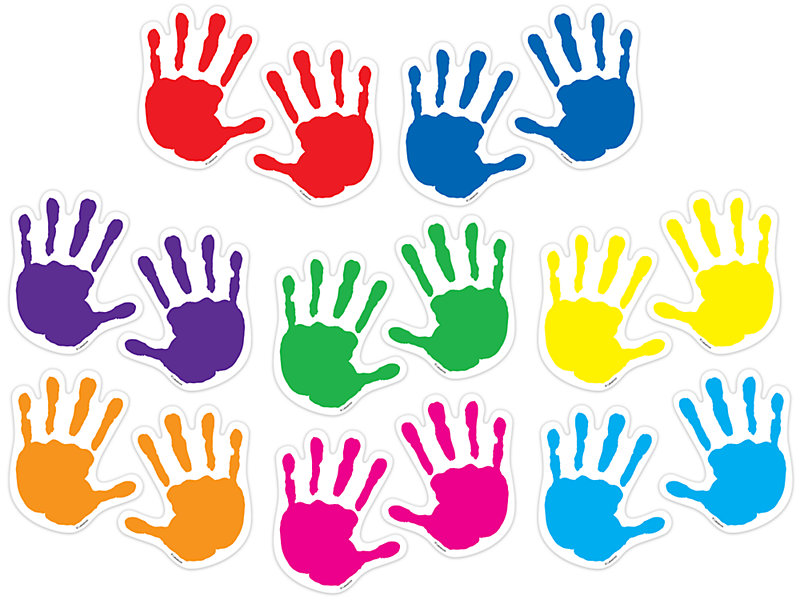 Accents . Handprint clipart outdoor learning