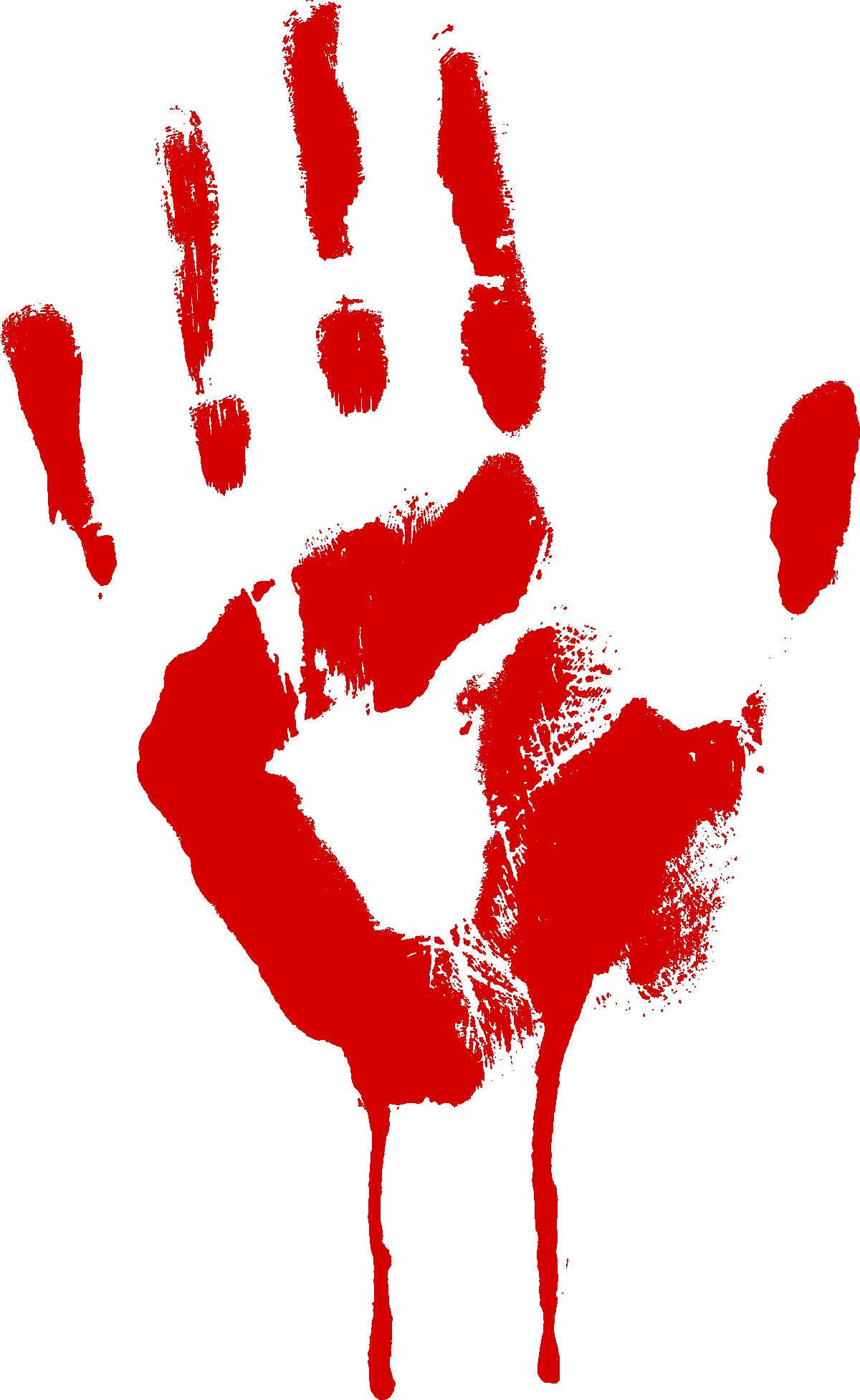 Handprint clipart red. Free photo hand print