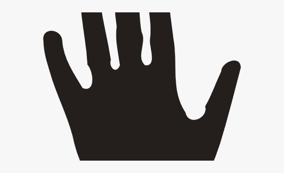 Handprint clipart right hand man. Sign language cliparts