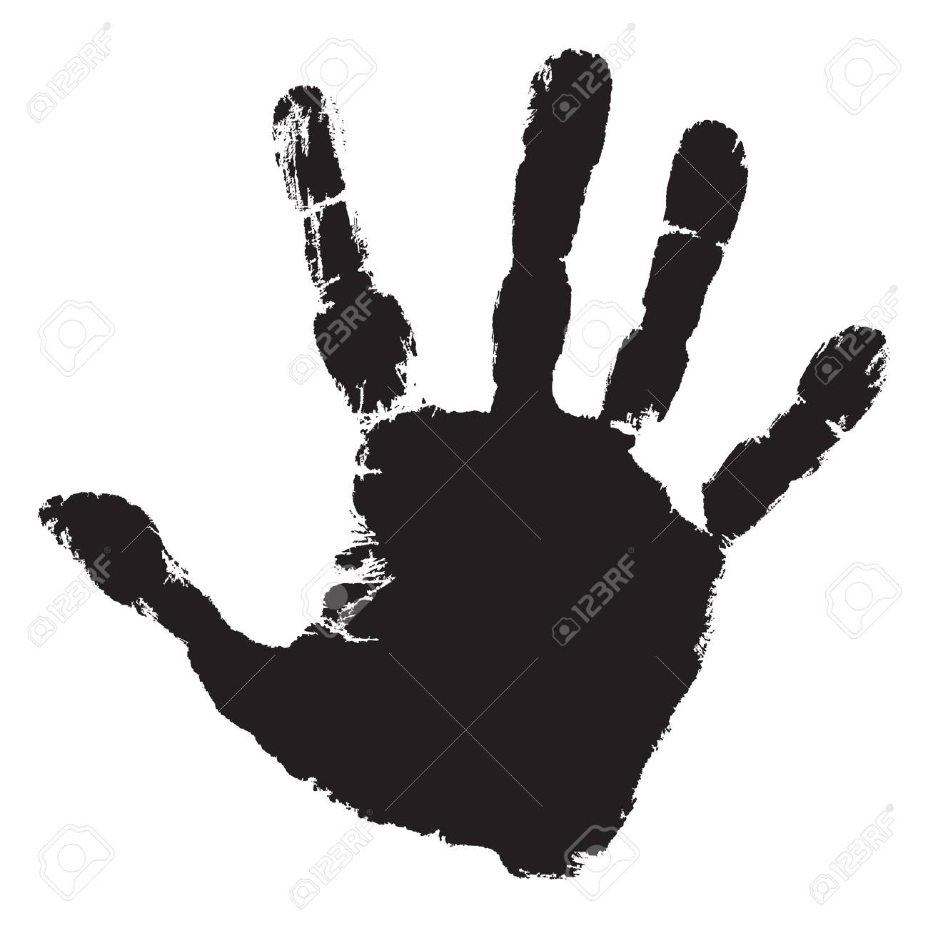Handprint clipart tiny. Free little hand download
