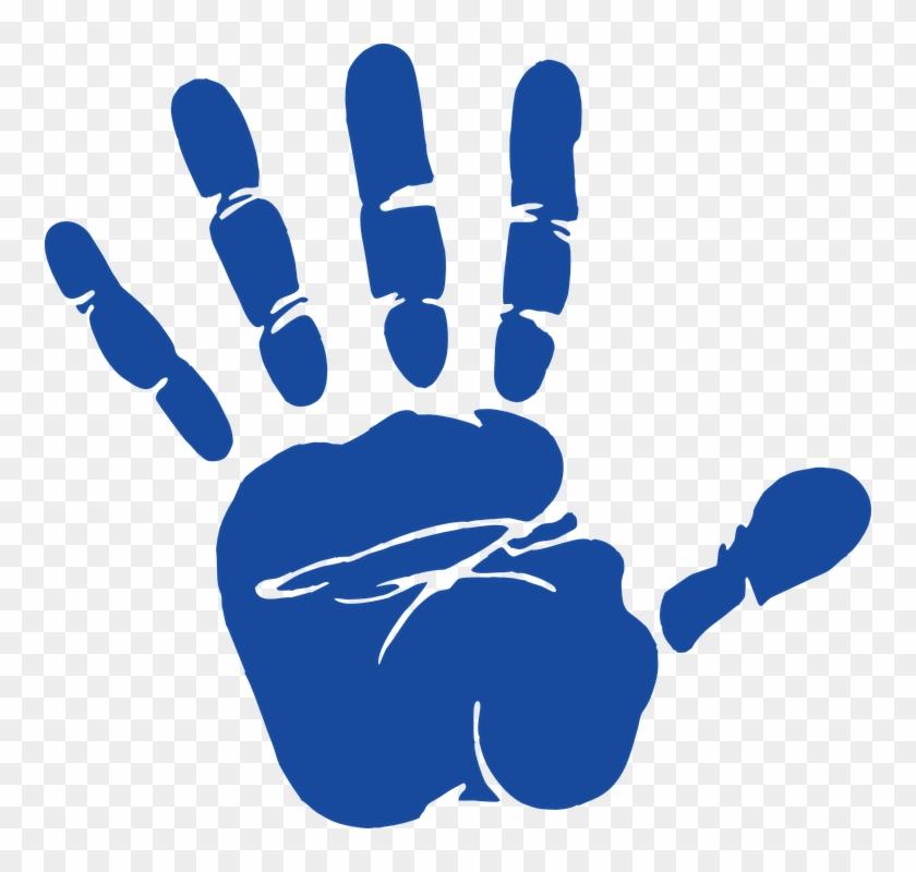 Female hand . Handprint clipart transparent background