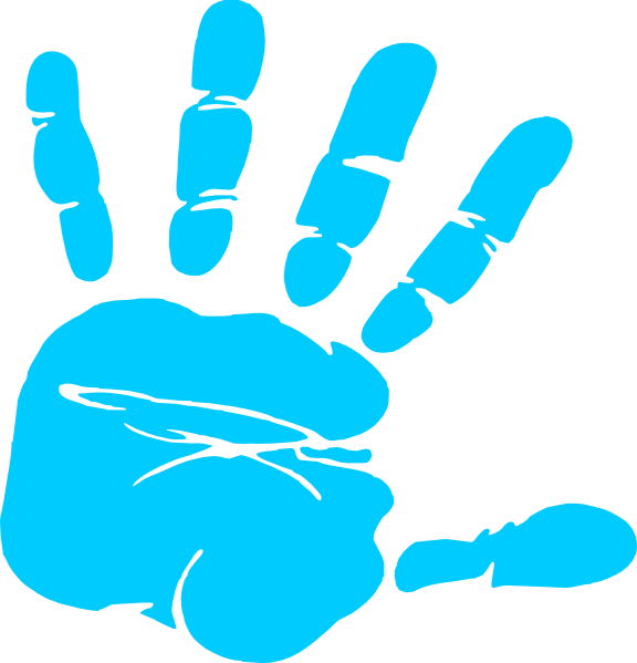 Colorful handprints gallery by. Handprint clipart transparent background