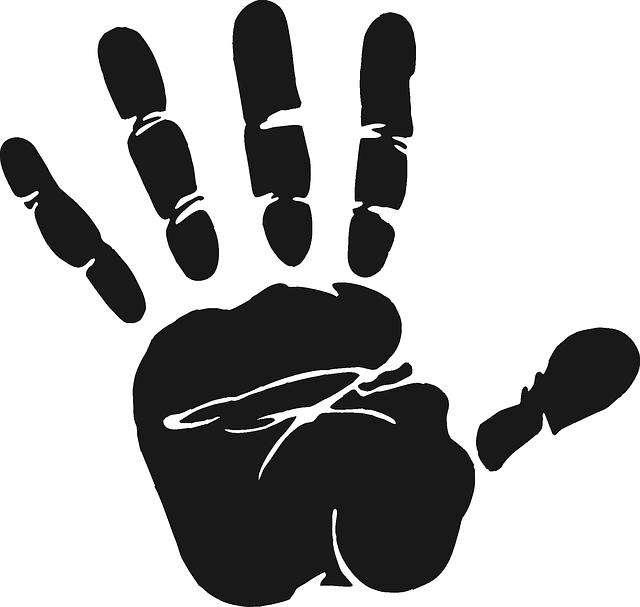 Handprint clipart volunteer hand. Stop google search tattoos