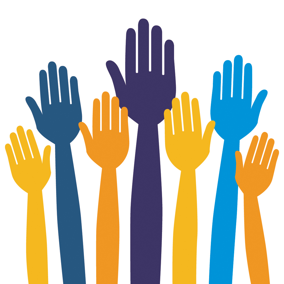 Volunteering clipart public meeting. Free hands graphic download