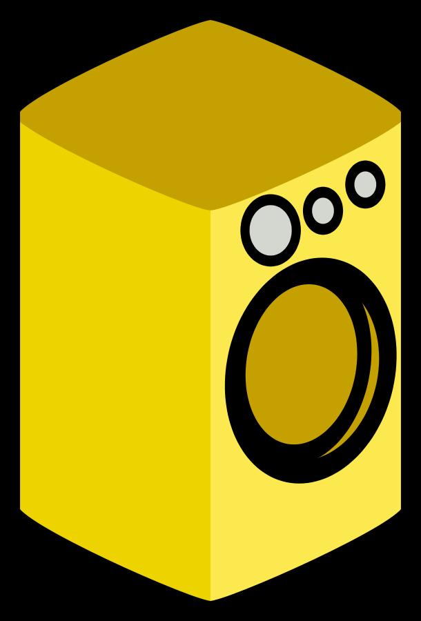 Free washing machine photos. Handprint clipart yellow