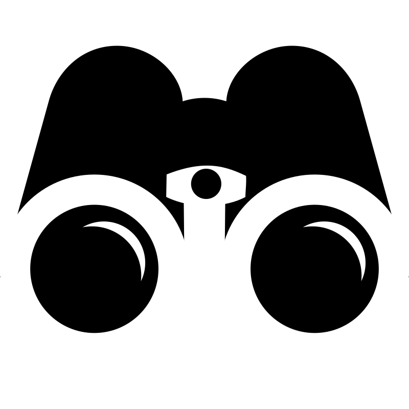 Hands clipart binoculars. Images of silhouette spacehero