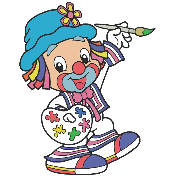 Hands clipart clown. Funny baby images are