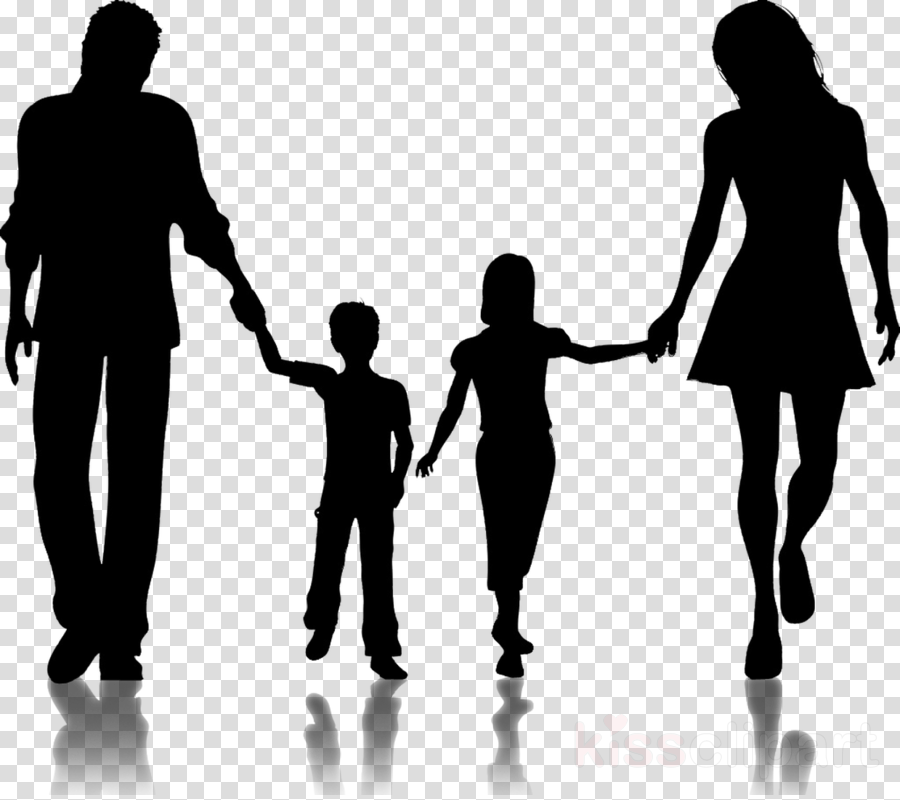 Holding people silhouette . Hands clipart family