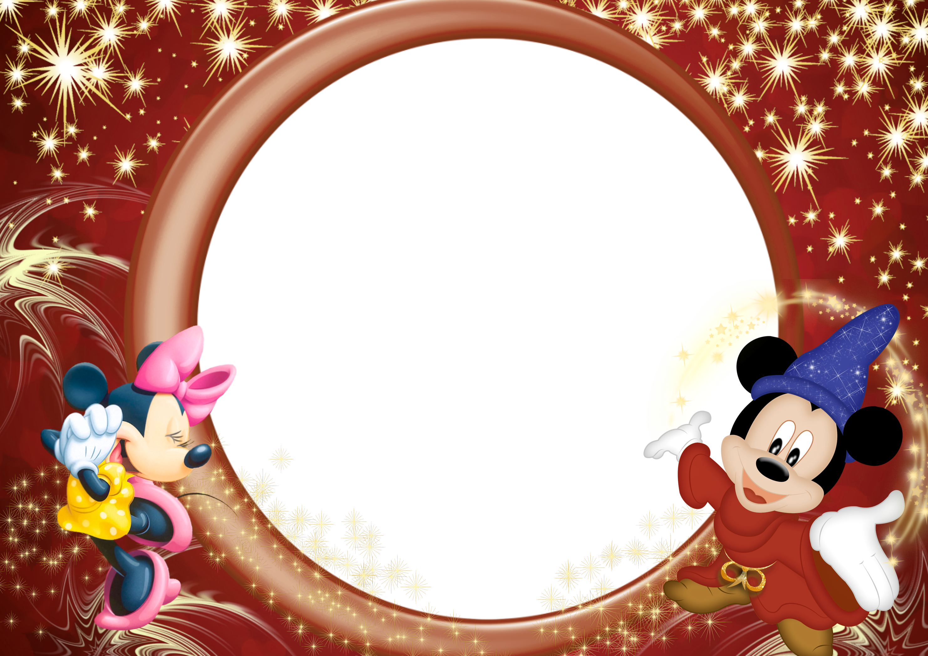 Hands clipart frame. Minnie and mickey transparent