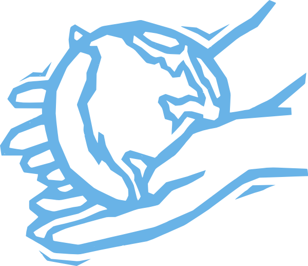 Hands clipart helping hand. World clip art at