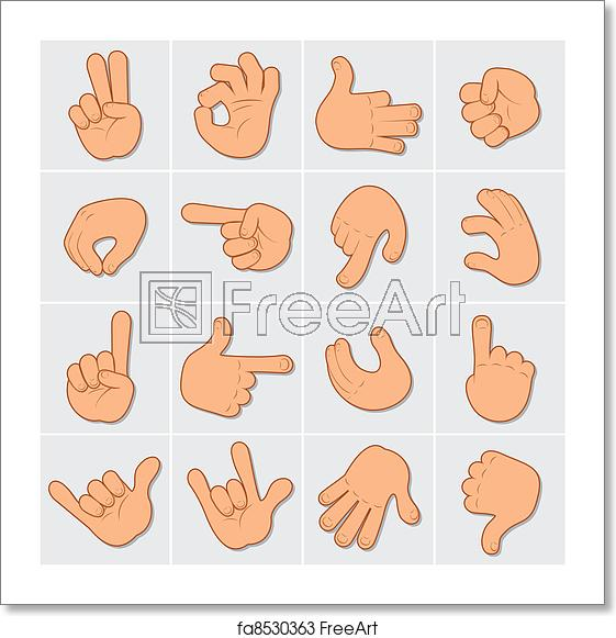 Free art print of. Hands clipart human hand