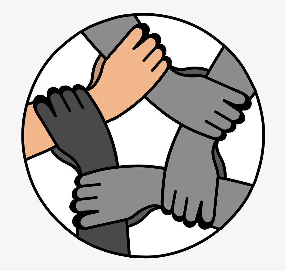 Hands clipart logo. Computer icons hand united