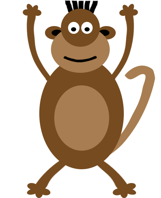 Hands clipart monkey. Images monkeyhandsup