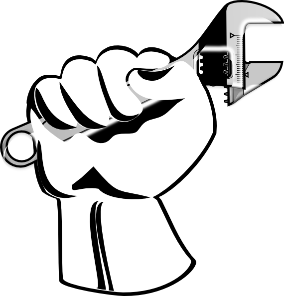 Worker clip art at. Hands clipart party