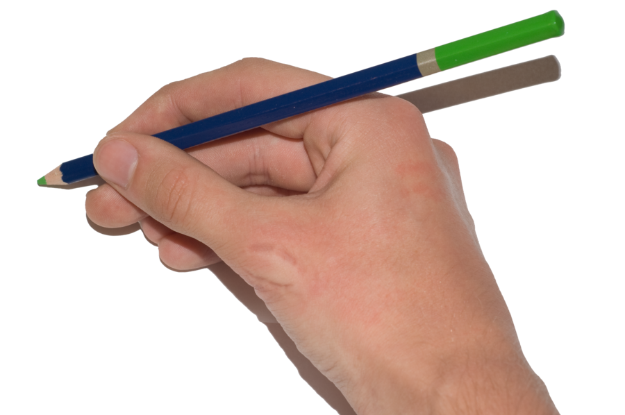 Gallery hand with drawings. Hands clipart pencil