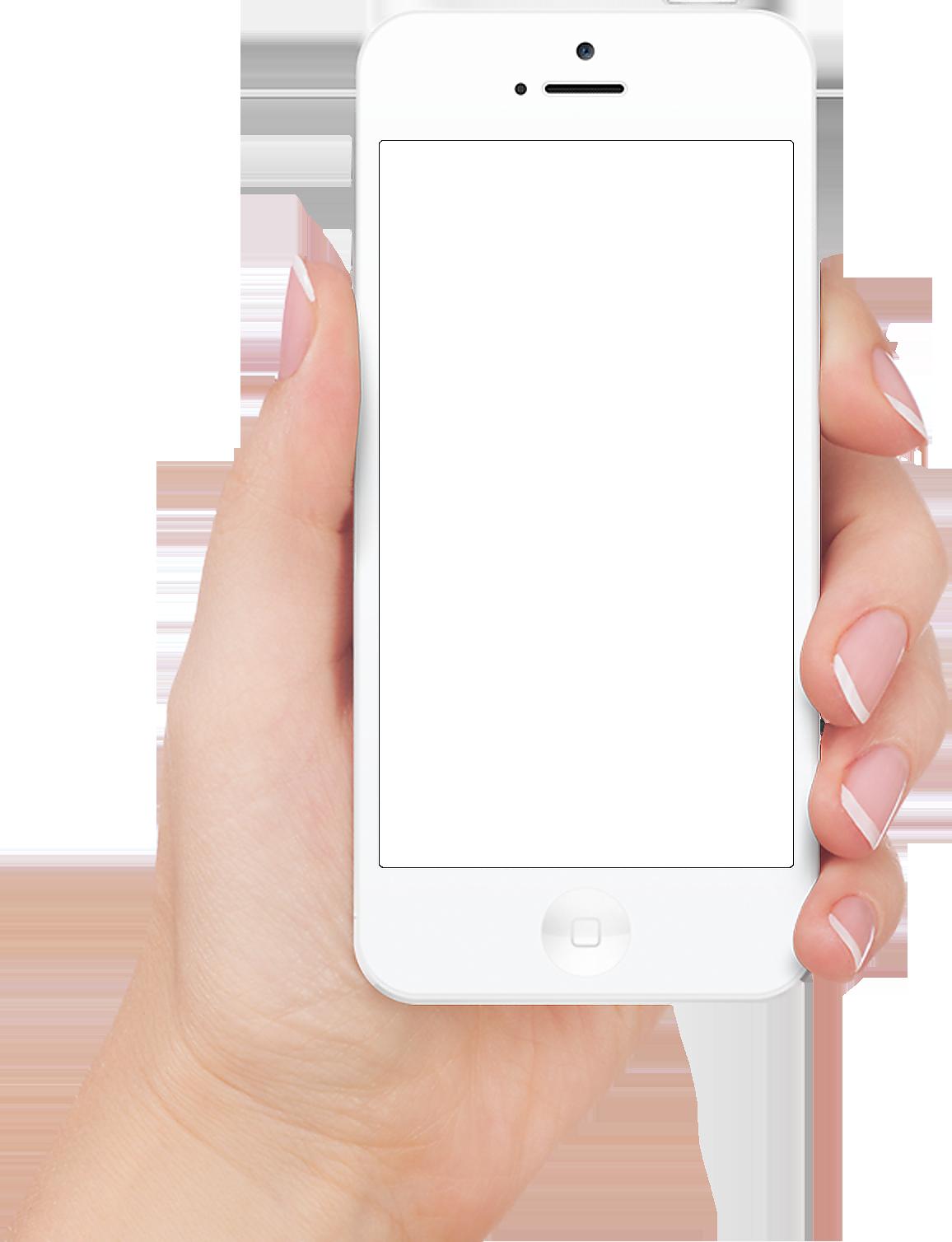 Hands clipart smartphone. Apple iphone in hand