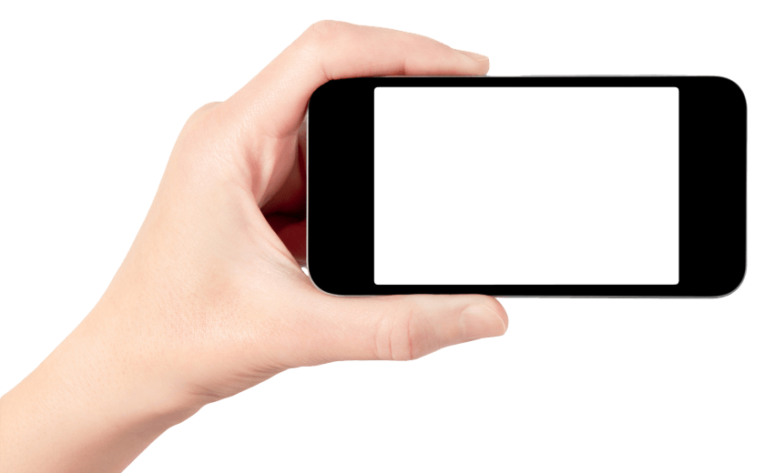 Hands clipart smartphone. Hand holding png free