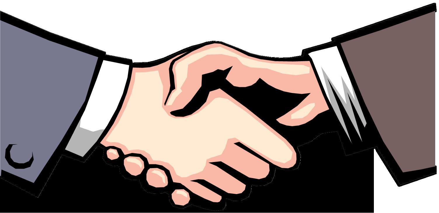 Network clipart vector png. Handshake