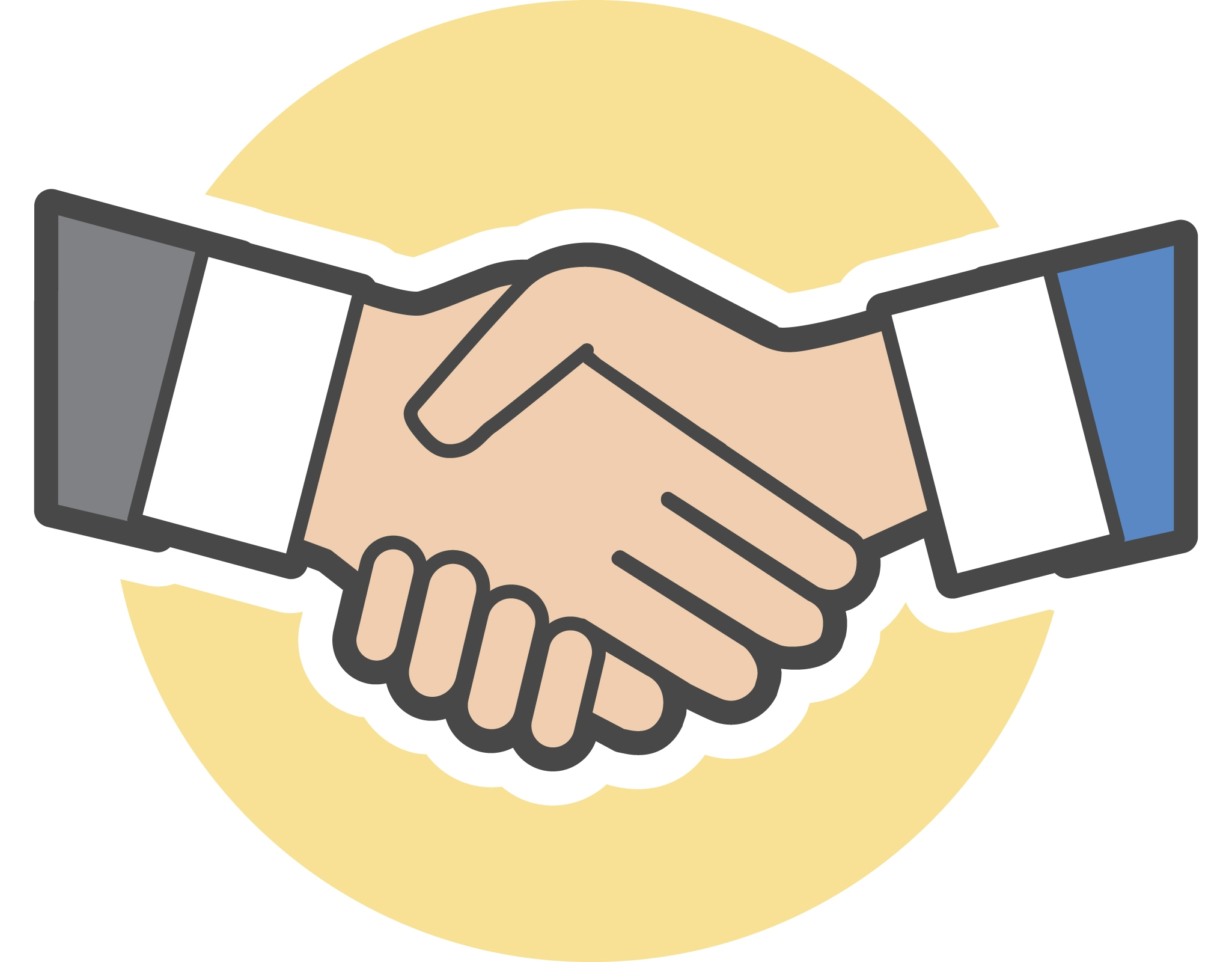 Handshake clipart. Awesome gallery digital collection