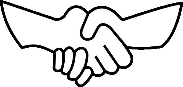 Handshake clipart. Panda free images handshakeclipart
