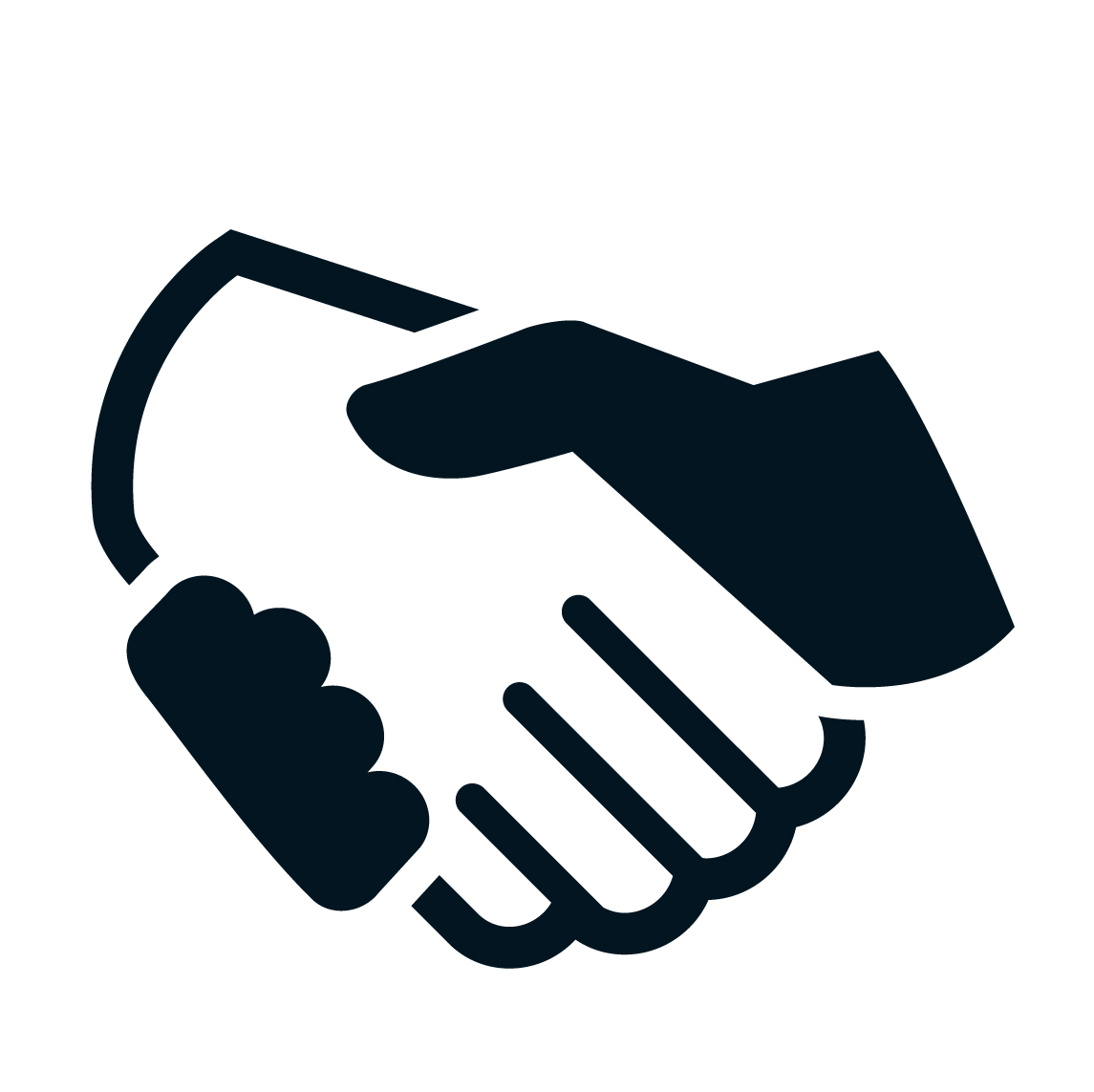 Handshake clipart alliance. Example for the icon