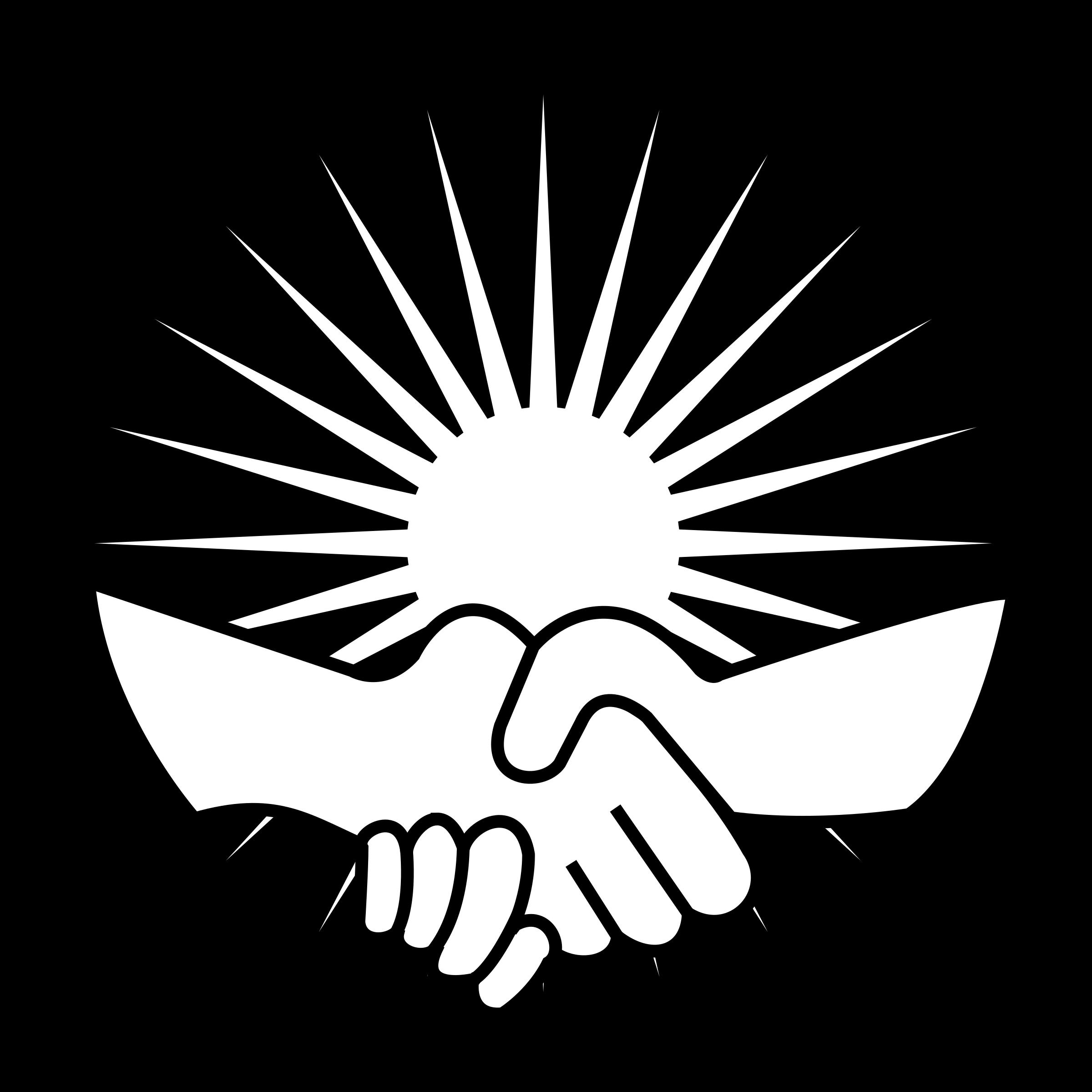 Handshake clipart business customer. Big image png