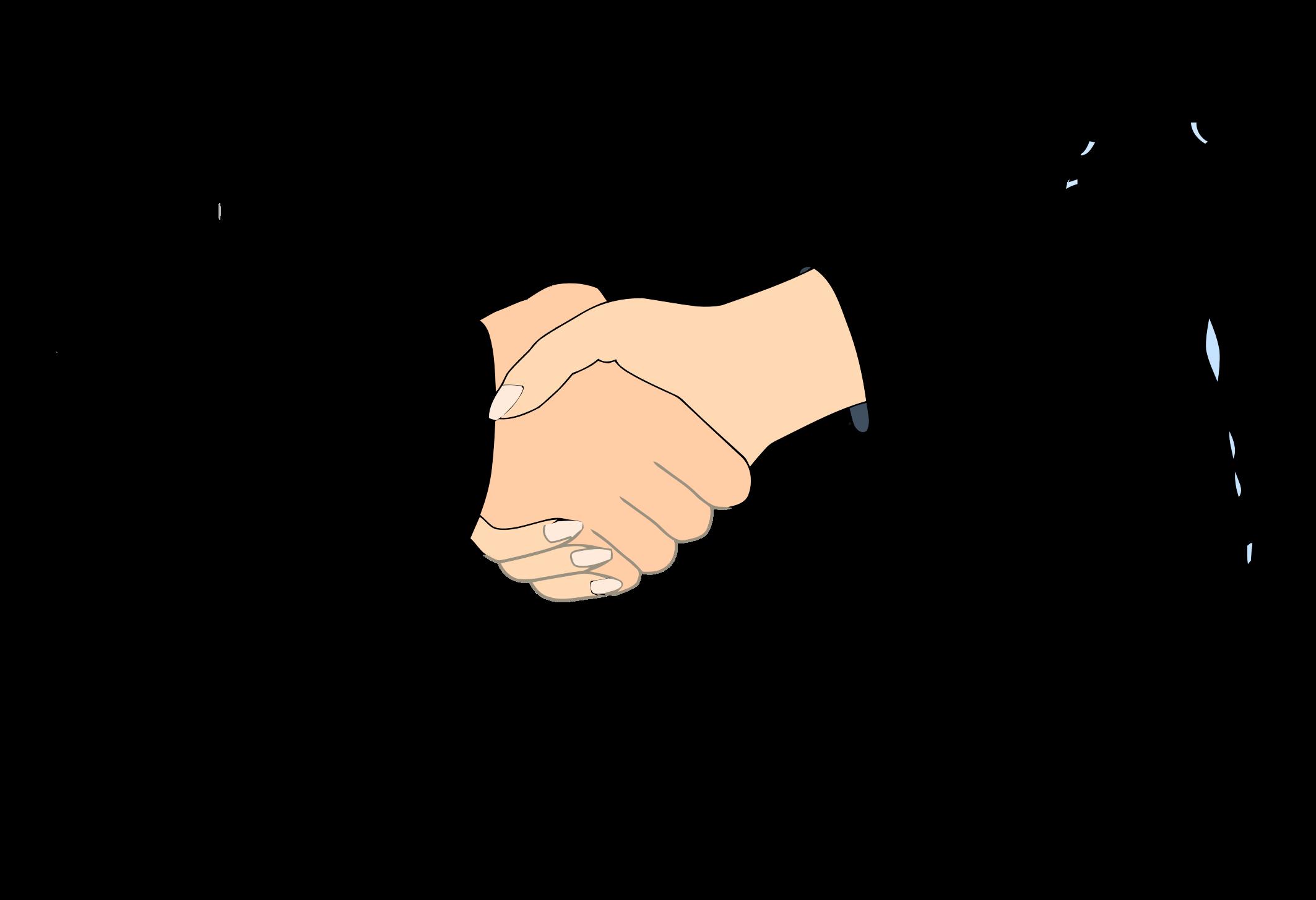 Big image png. Handshake clipart business customer