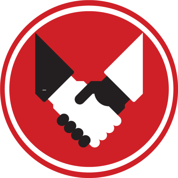 About us meritcorp group. Handshake clipart civil law