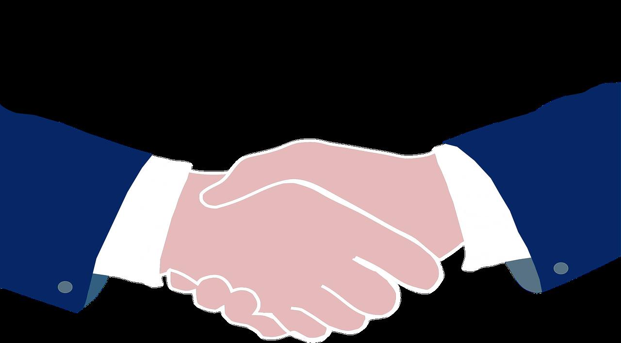 Office of linda sue. Handshake clipart civil law