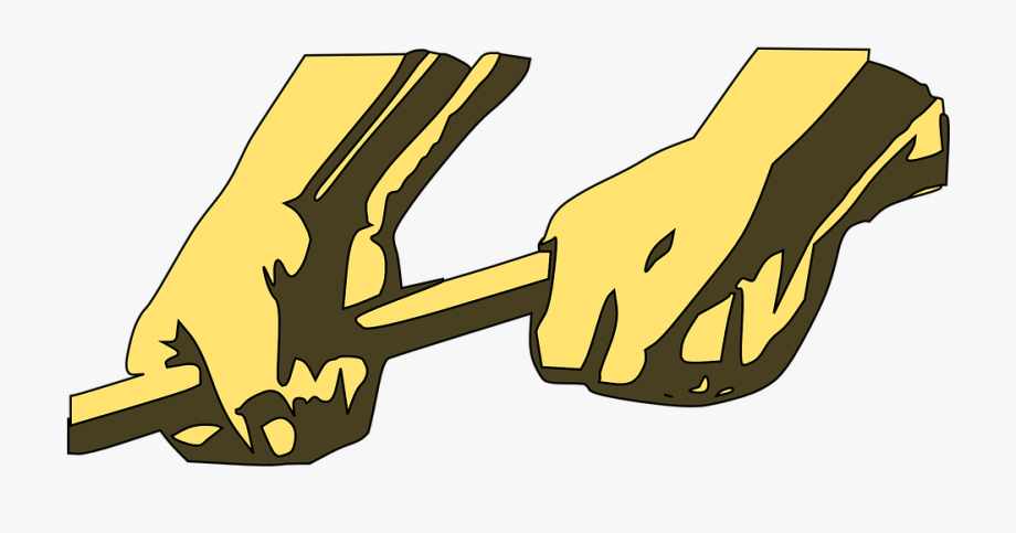 Two hands holding an. Handshake clipart clasped hand