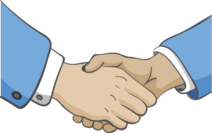 reasons to let. Handshake clipart commitment