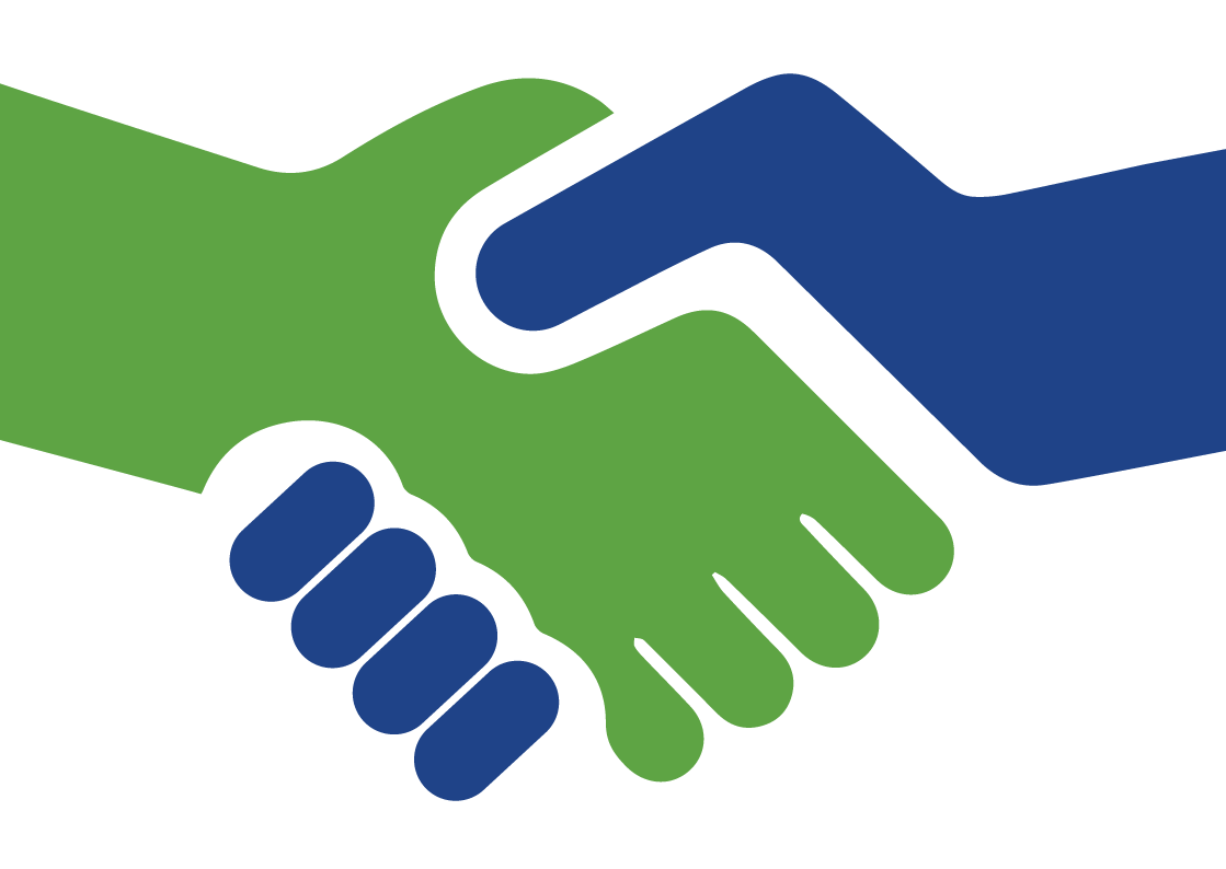 Five signs the guy. Handshake clipart commitment