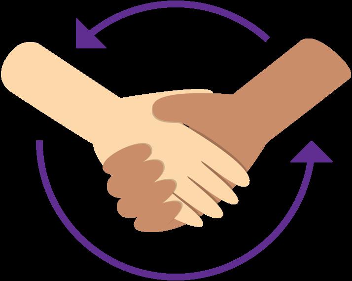 About future genius image. Handshake clipart commitment