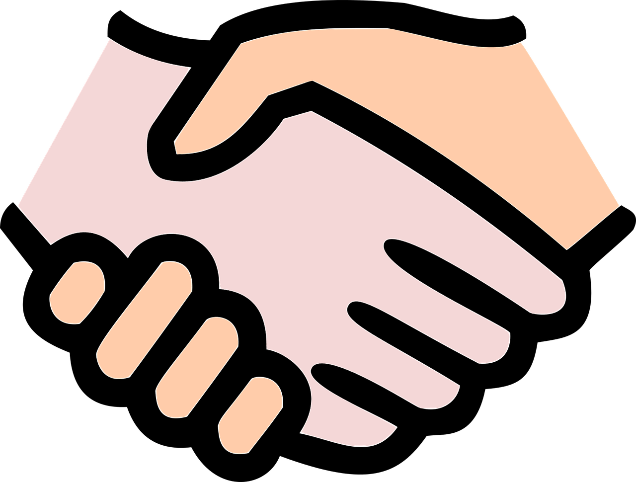 Handshake clipart conflict. Avoiding the pitfalls of