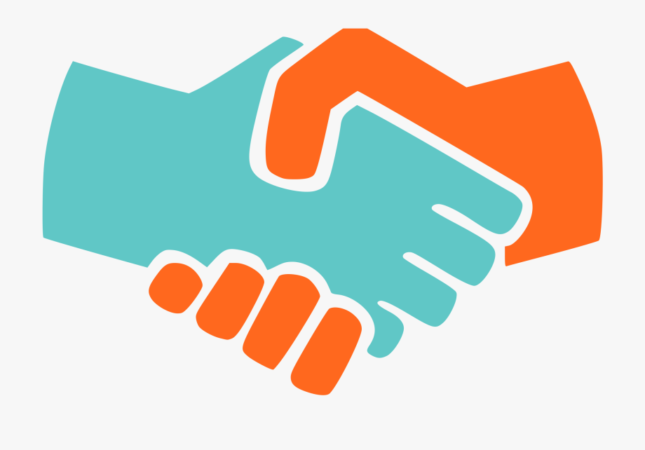 Icon big image png. Handshake clipart credibility