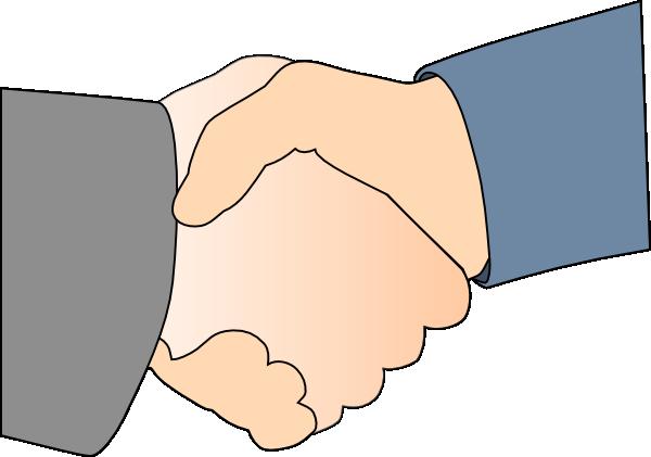 shaking hands vector. Handshake clipart credibility