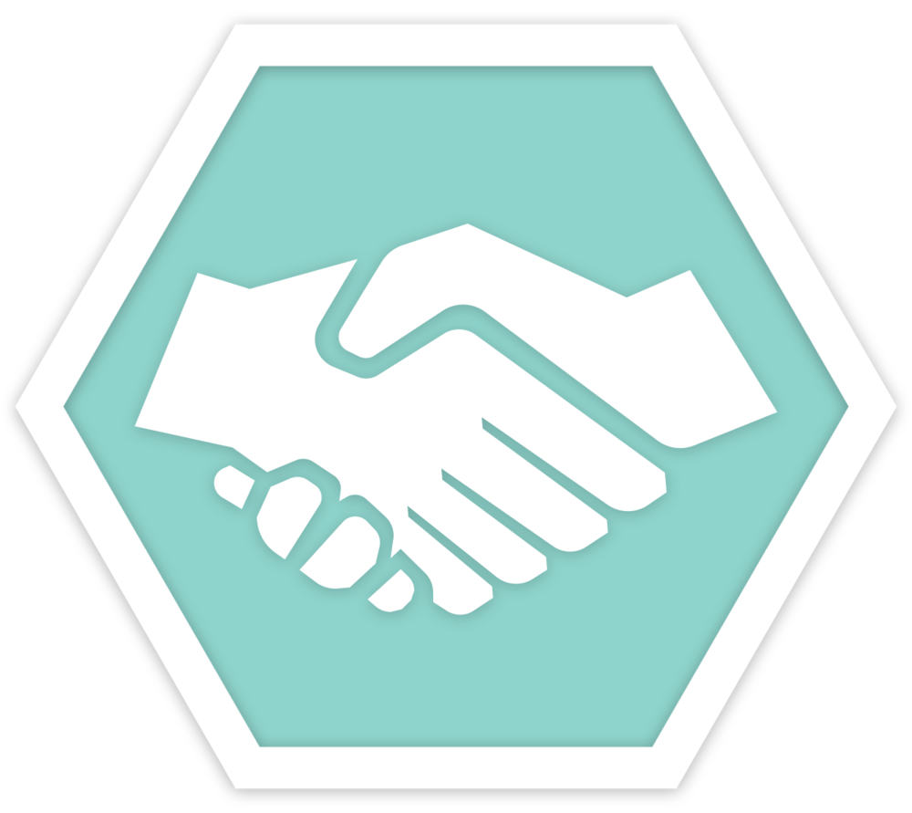What we do lightify. Handshake clipart dignity
