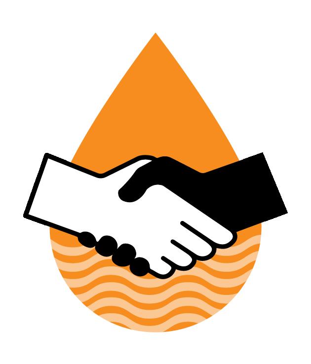 Handshake clipart dignity. Welcome to paani ka