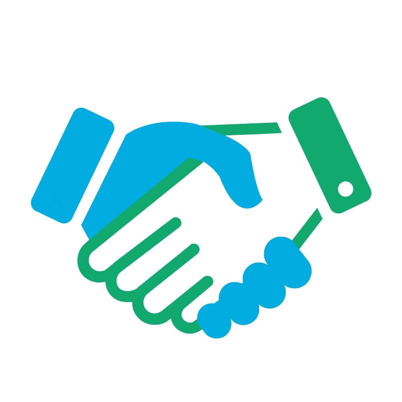 handshake clipart dignity