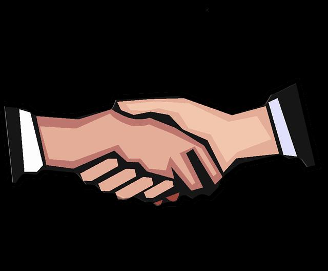 Handshake clipart doctor. Kims portea collaborate for