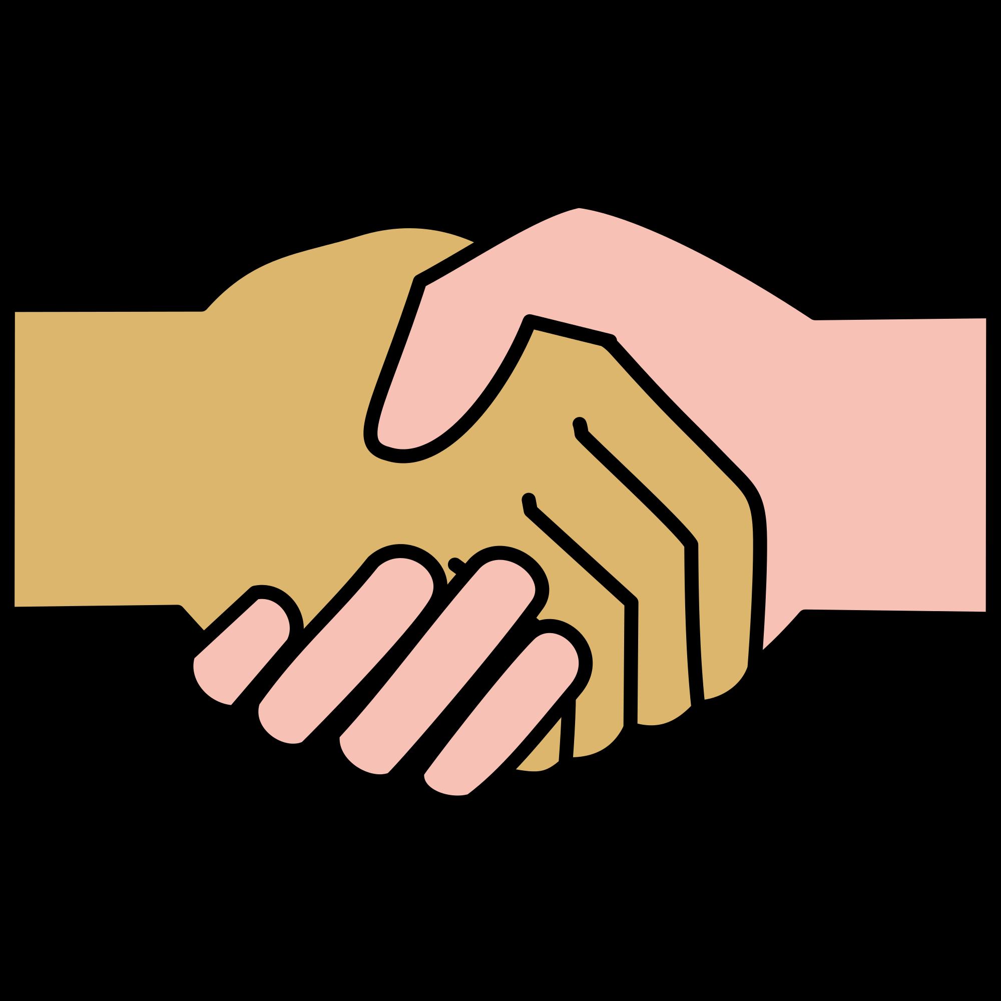 File icon svg wikimedia. Handshake clipart drawn