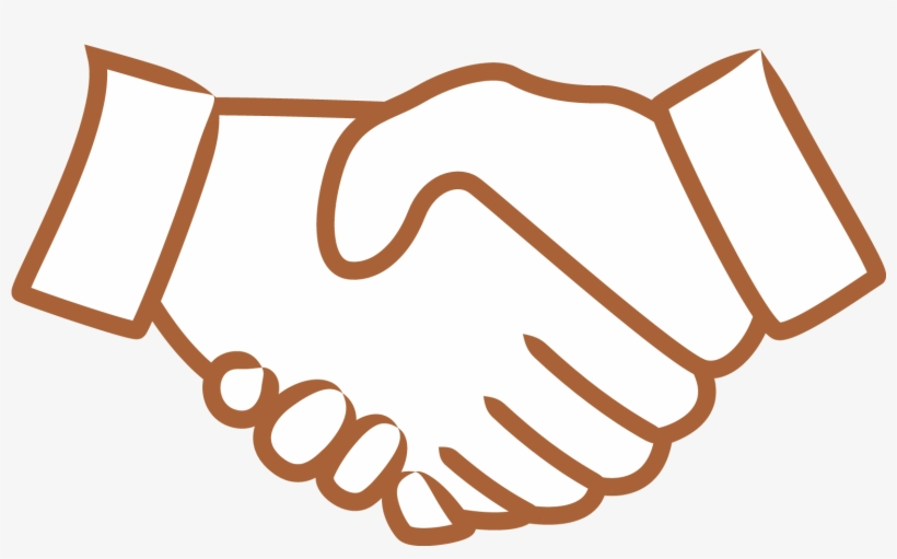 Handshake clipart executive agreement. Symbol png image