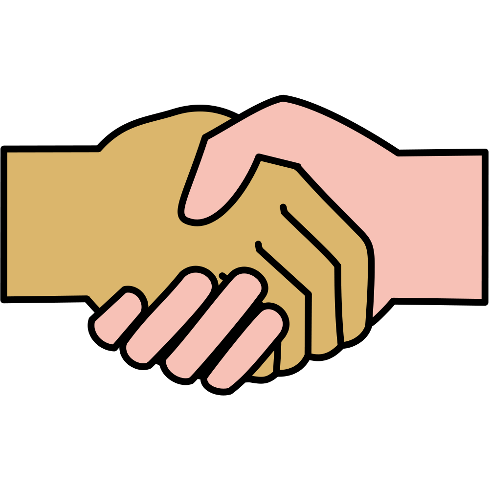 Handshake clipart file. Icon svg wikimedia commons