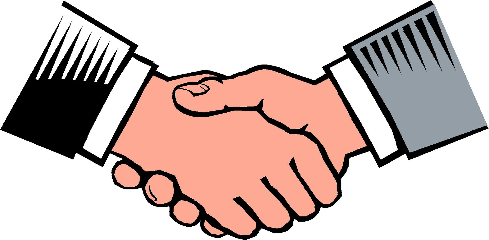 Handshake clipart great compromise. Free shaking hands cliparts