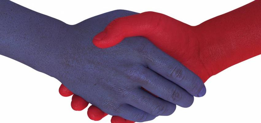 Handshake clipart great compromise. On health care and