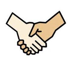 best logo images. Handshake clipart hand check